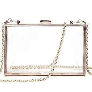 Handbags - Clear box crossbody bag